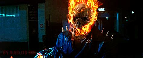 wallpaper ghost rider gif nicolas cage gif find share on giphy