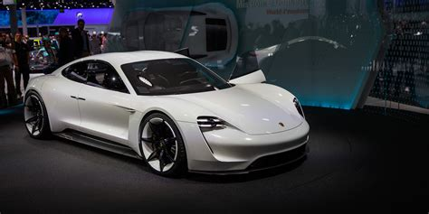 porsche mission porsche mission e could spawn electric vehicle range