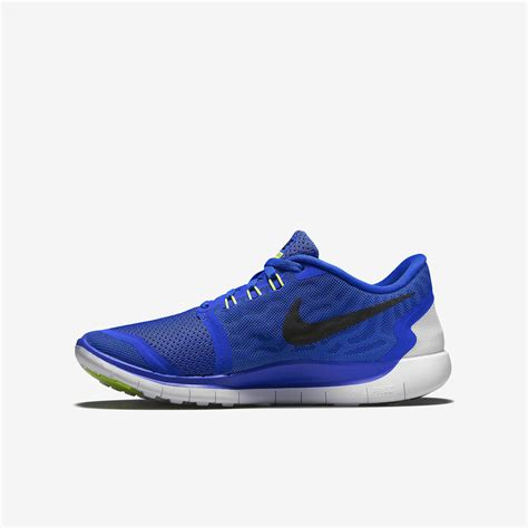 Nike Running 27 Free 5 0 Doff by Nike Boys Free 5 0 Running Shoes Royal