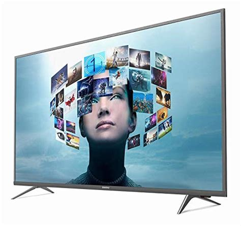 sanyo  cm  inches  uhd led smart certified