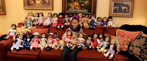 annabelle doll new york this 11 year american fan has more than 30 dolls
