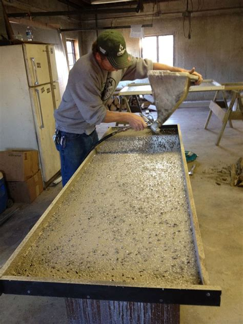 Best Concrete Mix For Countertops by Concrete Countertops How We Do It Decorative Concrete