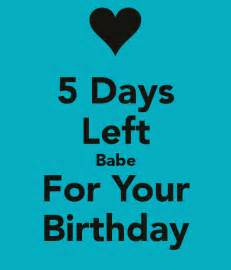for your birthday 5 days left for your birthday poster raghav keep