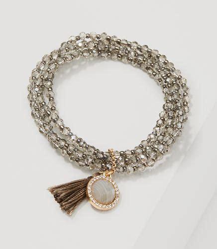 Tasseled Beaded Bracelet jewelry loft