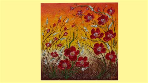 quadri astratti fiori fiori ricanti vendita quadri quadri
