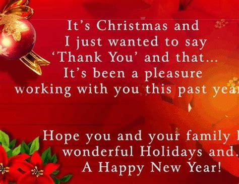 hope you and your family wonderful holidays and a happy