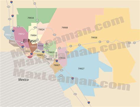el paso texas zip code map el paso zip code map zipcode map el paso texas el paso map