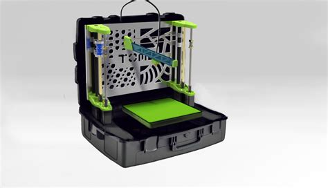 Mobile Printer 3d tome 3d printer fits in a briefcase comes in at less than 1 500 3d printer plans