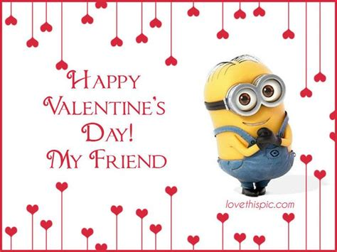Cute Valentines Memes - happy valentine s day cute quote friends valentine s day