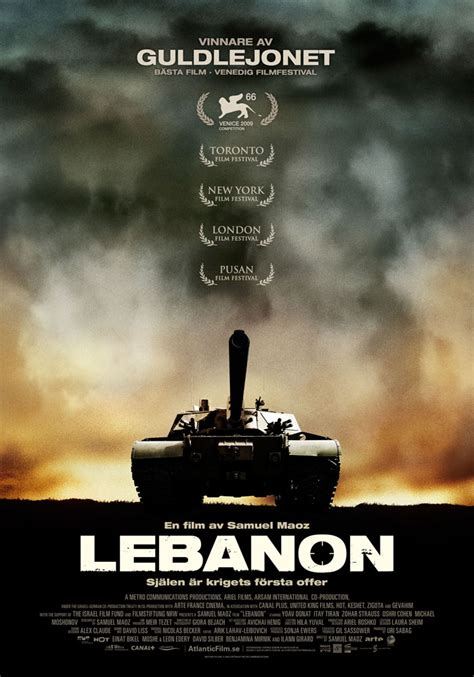 Design Elements For Home Lebanon 2009 Movie Poster Kellerman Design