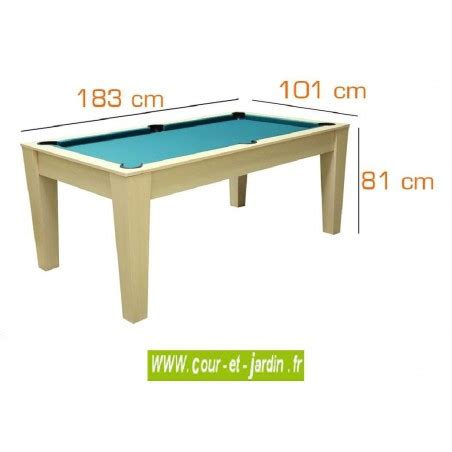 Tapis De Table De Billard by Table De Billard Convertible A Plateau Pour Salle A Manger