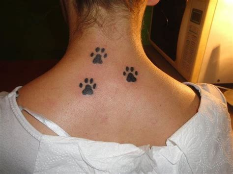 small dog paw print tattoo paw print tattoos designs ideas and meaning tattoos
