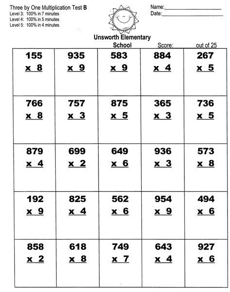 3 digit times 2 digit multiplication worksheets
