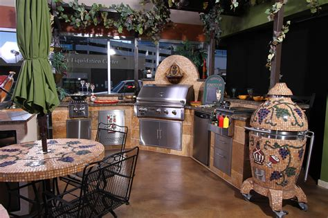 Modern Kitchen Island Table weber outdoor kitchen inspiration and design ideas for