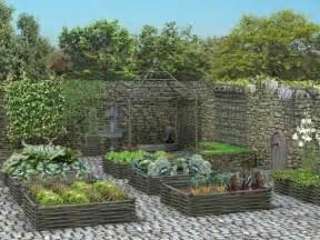 jardin en carr 233 s