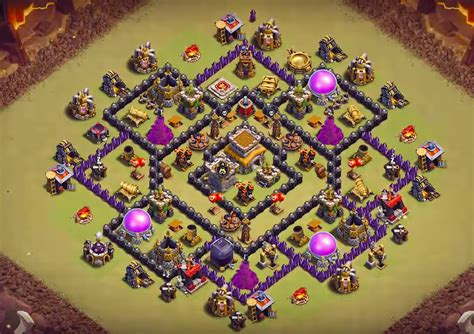 layout th8 war the best war bases th8 new 2018 anti everything