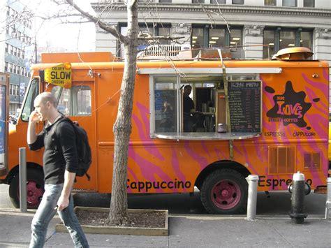 coffee truck examples interior design