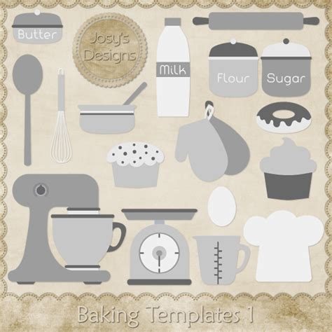 baking templates element templates magical scraps