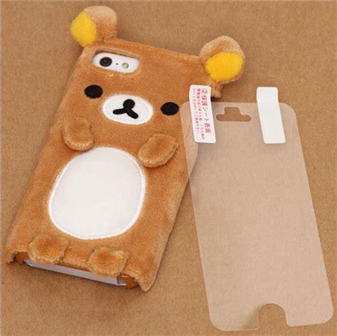 Rilakkuma Brown Iphone All Hp custodia rigida iphone 5 5s peluche orso marrone