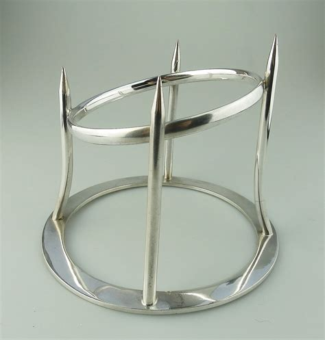antique for sale antique silver plate a asprey ham stand c early