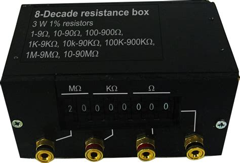 resistor box wiki decade resistor wiki 28 images resistor decade gallery kelvin varley divider the free