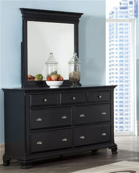 black dresser with mirror drawers buy roundhill furniture laveno 011 black wood 7 drawer
