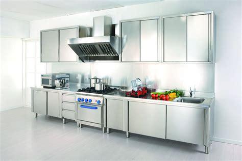 cucine in acciaio inox gourmet grand chef arca cucine italia cucine in