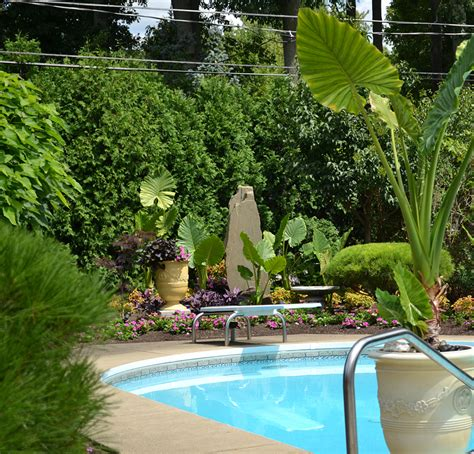 landscaping around a pool amherst pool landscaping 112 autumnwood google search