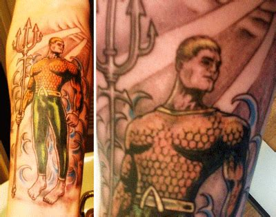 the aquaman shrine aquaman tattoo 2007