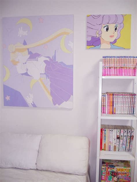 anime room decor bedroom dear my 90 s nostalgia anime theme room nostalgia