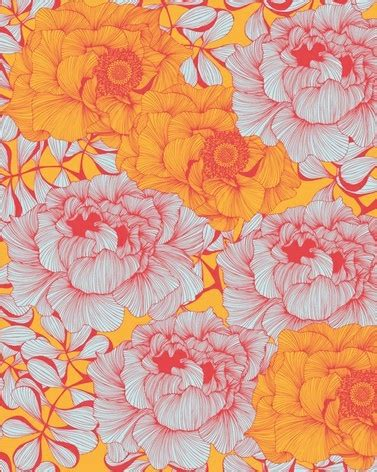 pattern yellow and orange pattern wallpaper coral pink yellow orange gala