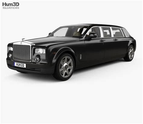 rolls royce vintage interior rolls royce phantom mutec with hq interior 2012 3d model
