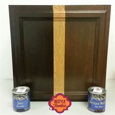 java gel stain colors stains stain cabinets and cabinets on