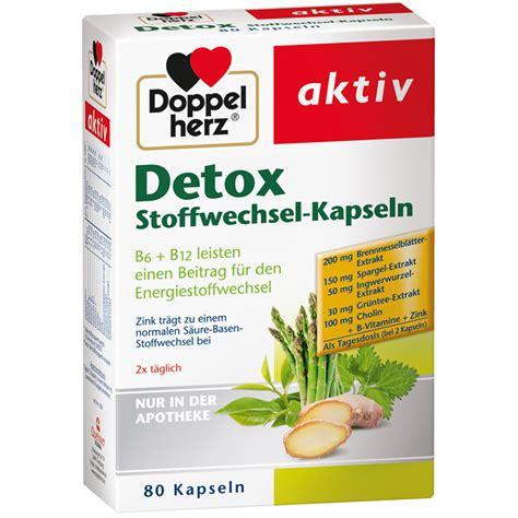 St Detox by Doppelherz Detox Stoffwechsel Kapseln Shop Apotheke