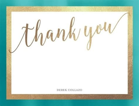 free custom thank you card template thank you card template journalingsage