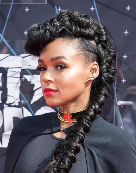Janelle Monae Hairstyle by 30 Braided Mohawk Styles That Turn Heads
