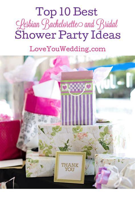 10 Best Lesbian Bachelorette and Bridal Shower Party Ideas