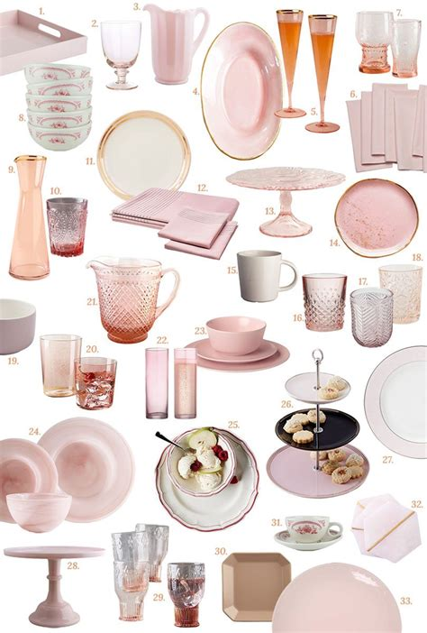 Ikea Geschirr Rosa by Pink Tabletop It Lovely