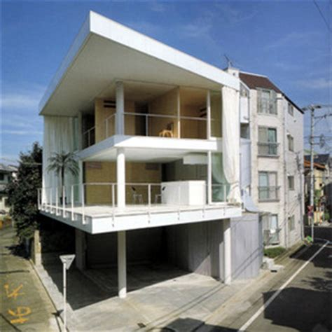 Curtain Wall House Shigeru Ban by カーテンウォールの家 1995 Kenちく小考