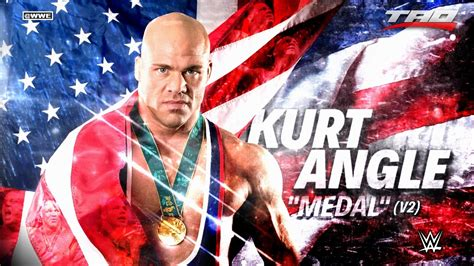 wwe theme songs kurt angle wwe kurt angle quot medal quot v2 official theme song 2017