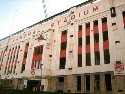 arsenal old stadium walking around arsenal an american in london