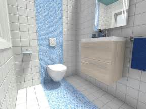 ideas mosaic wall: light blue mosaic tile bathroom wall along with corner glass shower