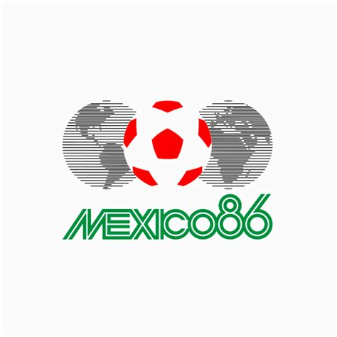 FIFA World Cup Logos From 1930 - 2018, Which One's The Best? Fifa World Cup 1986 Logo