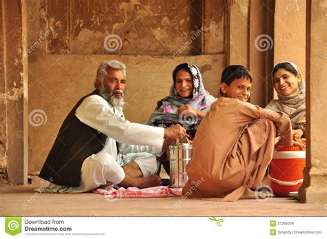 Door Design In India traditional pakistani family eating editorial stock image