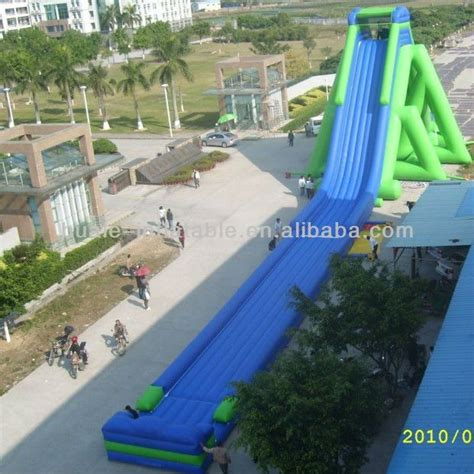 inflatable backyard water slides 25 unique inflatable water slides ideas on pinterest