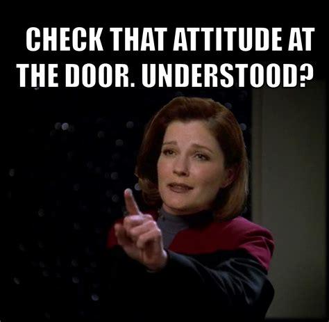 Star Trek Voyager Meme - star trek voyager captain janeway quotes www imgkid com