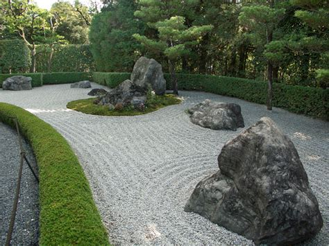 Zen Garden Rocks The Terraces Walls Stairs And Fences In The Tsubo En Zen Garden