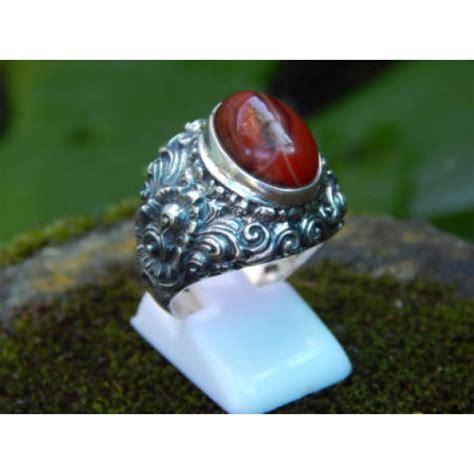 Cincin Akik Motif B cincin perak motif ukiran bali batu akik elevenia
