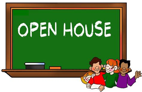 Best School Open House Clip Art 20393 Clipartion Com