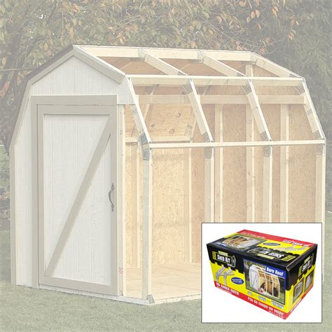 basics diy shed kit barn roof style kennesaw cutlery